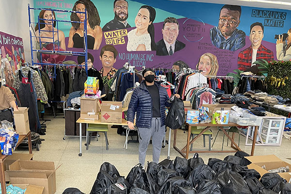 Twin cities homeless survival backpack fund